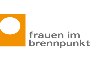 Logo of the Be Aware-Partner Frauen im Brennpunkt